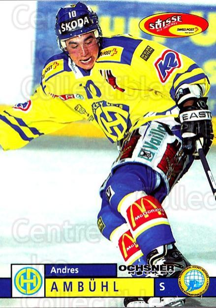 2002-03 Swiss Ice Hockey Cards #12 Andres Ambuhl<br/>2 In Stock - $2.00 each - <a href=https://centericecollectibles.foxycart.com/cart?name=2002-03%20Swiss%20Ice%20Hockey%20Cards%20%2312%20Andres%20Ambuhl...&quantity_max=2&price=$2.00&code=221057 class=foxycart> Buy it now! </a>