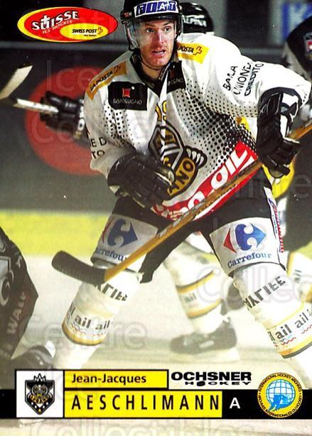 2002-03 Swiss Ice Hockey Cards #61 Jean-Jacques Aeschlimann<br/>2 In Stock - $2.00 each - <a href=https://centericecollectibles.foxycart.com/cart?name=2002-03%20Swiss%20Ice%20Hockey%20Cards%20%2361%20Jean-Jacques%20Ae...&quantity_max=2&price=$2.00&code=221106 class=foxycart> Buy it now! </a>