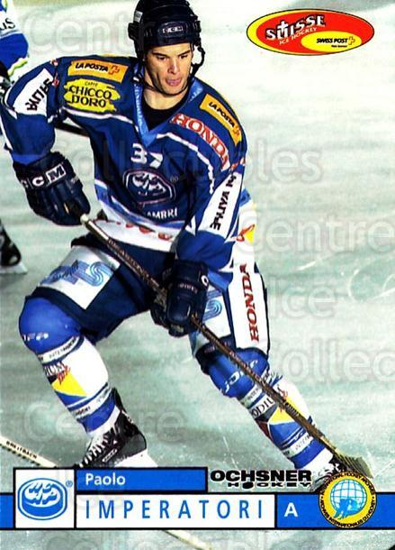 2002-03 Swiss Ice Hockey Cards #139 Paolo Imperatori<br/>2 In Stock - $2.00 each - <a href=https://centericecollectibles.foxycart.com/cart?name=2002-03%20Swiss%20Ice%20Hockey%20Cards%20%23139%20Paolo%20Imperator...&quantity_max=2&price=$2.00&code=221184 class=foxycart> Buy it now! </a>