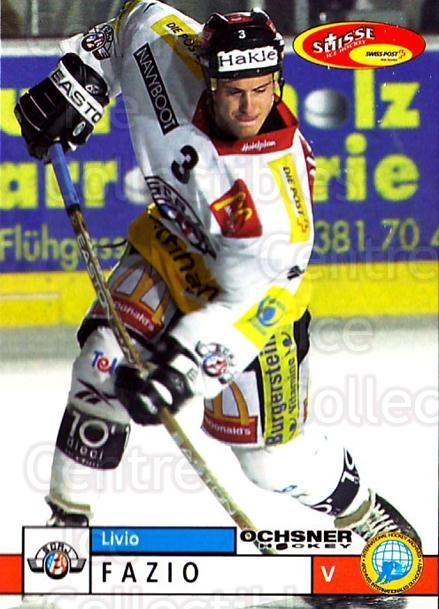 2002-03 Swiss Ice Hockey Cards #214 Livio Fazio<br/>2 In Stock - $2.00 each - <a href=https://centericecollectibles.foxycart.com/cart?name=2002-03%20Swiss%20Ice%20Hockey%20Cards%20%23214%20Livio%20Fazio...&price=$2.00&code=221259 class=foxycart> Buy it now! </a>
