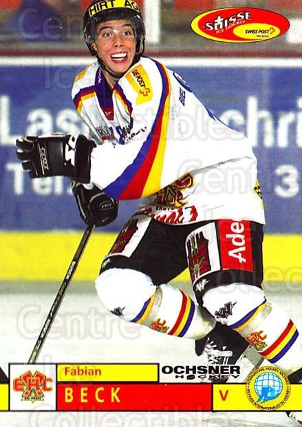 2002-03 Swiss Ice Hockey Cards #299 Fabian Beck<br/>3 In Stock - $2.00 each - <a href=https://centericecollectibles.foxycart.com/cart?name=2002-03%20Swiss%20Ice%20Hockey%20Cards%20%23299%20Fabian%20Beck...&quantity_max=3&price=$2.00&code=221344 class=foxycart> Buy it now! </a>