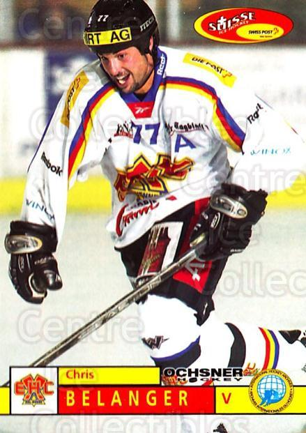 2002-03 Swiss Ice Hockey Cards #300 Chris Belanger<br/>2 In Stock - $2.00 each - <a href=https://centericecollectibles.foxycart.com/cart?name=2002-03%20Swiss%20Ice%20Hockey%20Cards%20%23300%20Chris%20Belanger...&quantity_max=2&price=$2.00&code=221345 class=foxycart> Buy it now! </a>