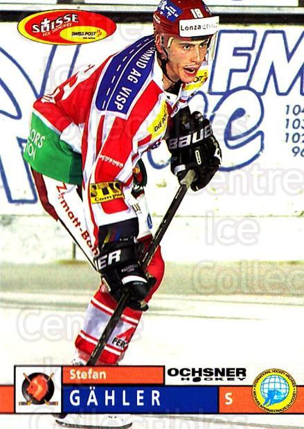 2002-03 Swiss Ice Hockey Cards #344 Stefan Gahler<br/>1 In Stock - $2.00 each - <a href=https://centericecollectibles.foxycart.com/cart?name=2002-03%20Swiss%20Ice%20Hockey%20Cards%20%23344%20Stefan%20Gahler...&quantity_max=1&price=$2.00&code=221389 class=foxycart> Buy it now! </a>