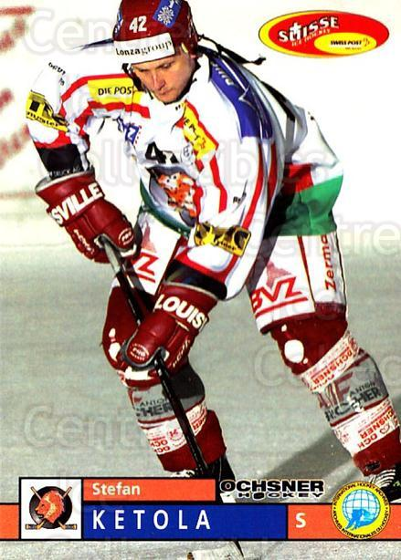 2002-03 Swiss Ice Hockey Cards #345 Stefan Ketola<br/>1 In Stock - $2.00 each - <a href=https://centericecollectibles.foxycart.com/cart?name=2002-03%20Swiss%20Ice%20Hockey%20Cards%20%23345%20Stefan%20Ketola...&quantity_max=1&price=$2.00&code=221390 class=foxycart> Buy it now! </a>