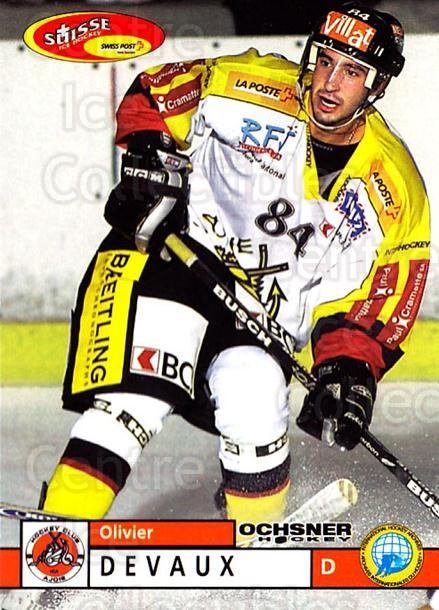 2002-03 Swiss Ice Hockey Cards #355 Olivier Devaux<br/>2 In Stock - $2.00 each - <a href=https://centericecollectibles.foxycart.com/cart?name=2002-03%20Swiss%20Ice%20Hockey%20Cards%20%23355%20Olivier%20Devaux...&quantity_max=2&price=$2.00&code=221400 class=foxycart> Buy it now! </a>