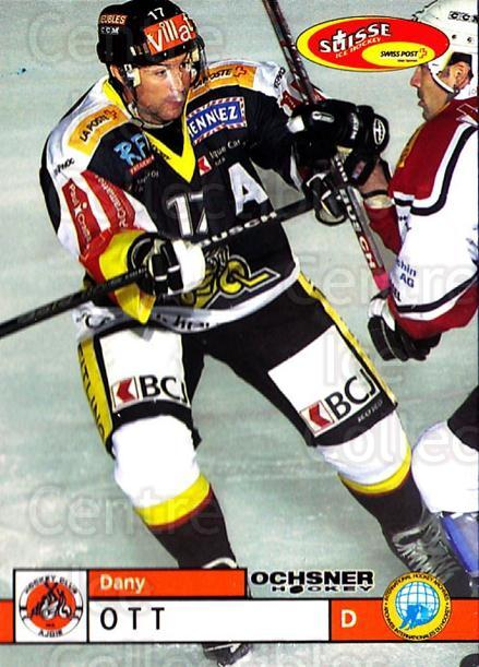 2002-03 Swiss Ice Hockey Cards #358 Dany Ott<br/>3 In Stock - $2.00 each - <a href=https://centericecollectibles.foxycart.com/cart?name=2002-03%20Swiss%20Ice%20Hockey%20Cards%20%23358%20Dany%20Ott...&quantity_max=3&price=$2.00&code=221403 class=foxycart> Buy it now! </a>