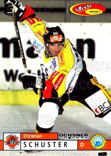 2002-03 Swiss Ice Hockey Cards #359 Christian Schuster<br/>3 In Stock - $2.00 each - <a href=https://centericecollectibles.foxycart.com/cart?name=2002-03%20Swiss%20Ice%20Hockey%20Cards%20%23359%20Christian%20Schus...&quantity_max=3&price=$2.00&code=221404 class=foxycart> Buy it now! </a>