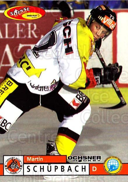 2002-03 Swiss Ice Hockey Cards #360 Martin Schupach<br/>3 In Stock - $2.00 each - <a href=https://centericecollectibles.foxycart.com/cart?name=2002-03%20Swiss%20Ice%20Hockey%20Cards%20%23360%20Martin%20Schupach...&quantity_max=3&price=$2.00&code=221405 class=foxycart> Buy it now! </a>