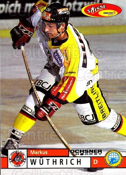 2002-03 Swiss Ice Hockey Cards #361 Markus Wuthrich<br/>2 In Stock - $2.00 each - <a href=https://centericecollectibles.foxycart.com/cart?name=2002-03%20Swiss%20Ice%20Hockey%20Cards%20%23361%20Markus%20Wuthrich...&quantity_max=2&price=$2.00&code=221406 class=foxycart> Buy it now! </a>
