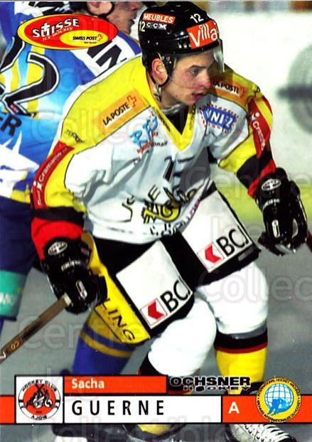 2002-03 Swiss Ice Hockey Cards #366 Sacha Guerne<br/>2 In Stock - $2.00 each - <a href=https://centericecollectibles.foxycart.com/cart?name=2002-03%20Swiss%20Ice%20Hockey%20Cards%20%23366%20Sacha%20Guerne...&quantity_max=2&price=$2.00&code=221411 class=foxycart> Buy it now! </a>