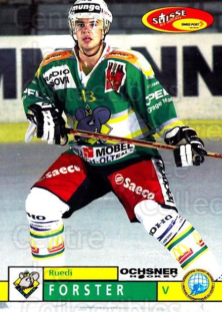 2002-03 Swiss Ice Hockey Cards #375 Ruedi Forster<br/>2 In Stock - $2.00 each - <a href=https://centericecollectibles.foxycart.com/cart?name=2002-03%20Swiss%20Ice%20Hockey%20Cards%20%23375%20Ruedi%20Forster...&quantity_max=2&price=$2.00&code=221420 class=foxycart> Buy it now! </a>