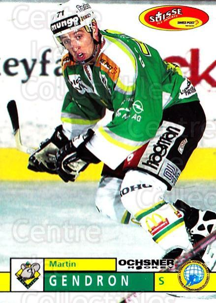 2002-03 Swiss Ice Hockey Cards #381 Martin Gendron<br/>2 In Stock - $2.00 each - <a href=https://centericecollectibles.foxycart.com/cart?name=2002-03%20Swiss%20Ice%20Hockey%20Cards%20%23381%20Martin%20Gendron...&quantity_max=2&price=$2.00&code=221426 class=foxycart> Buy it now! </a>