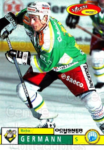 2002-03 Swiss Ice Hockey Cards #382 Reto Germann<br/>1 In Stock - $2.00 each - <a href=https://centericecollectibles.foxycart.com/cart?name=2002-03%20Swiss%20Ice%20Hockey%20Cards%20%23382%20Reto%20Germann...&quantity_max=1&price=$2.00&code=221427 class=foxycart> Buy it now! </a>