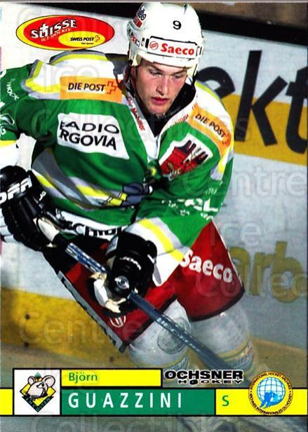 2002-03 Swiss Ice Hockey Cards #384 Bjorn Guazzini<br/>1 In Stock - $2.00 each - <a href=https://centericecollectibles.foxycart.com/cart?name=2002-03%20Swiss%20Ice%20Hockey%20Cards%20%23384%20Bjorn%20Guazzini...&quantity_max=1&price=$2.00&code=221429 class=foxycart> Buy it now! </a>