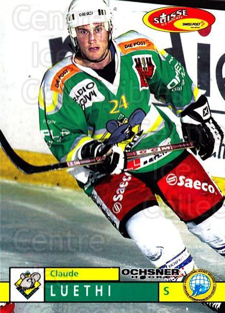 2002-03 Swiss Ice Hockey Cards #385 Claude Luhti<br/>2 In Stock - $2.00 each - <a href=https://centericecollectibles.foxycart.com/cart?name=2002-03%20Swiss%20Ice%20Hockey%20Cards%20%23385%20Claude%20Luhti...&quantity_max=2&price=$2.00&code=221430 class=foxycart> Buy it now! </a>