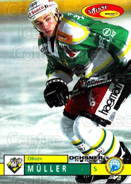 2002-03 Swiss Ice Hockey Cards #387 Oliver Muller<br/>2 In Stock - $2.00 each - <a href=https://centericecollectibles.foxycart.com/cart?name=2002-03%20Swiss%20Ice%20Hockey%20Cards%20%23387%20Oliver%20Muller...&quantity_max=2&price=$2.00&code=221432 class=foxycart> Buy it now! </a>
