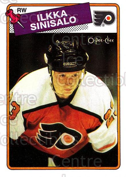 1988-89 O-Pee-Chee #111 Ilkka Sinisalo<br/>11 In Stock - $1.00 each - <a href=https://centericecollectibles.foxycart.com/cart?name=1988-89%20O-Pee-Chee%20%23111%20Ilkka%20Sinisalo...&quantity_max=11&price=$1.00&code=22143 class=foxycart> Buy it now! </a>