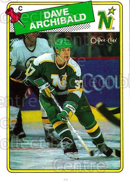 1988-89 O-Pee-Chee #112 Dave Archibald<br/>9 In Stock - $1.00 each - <a href=https://centericecollectibles.foxycart.com/cart?name=1988-89%20O-Pee-Chee%20%23112%20Dave%20Archibald...&quantity_max=9&price=$1.00&code=22144 class=foxycart> Buy it now! </a>