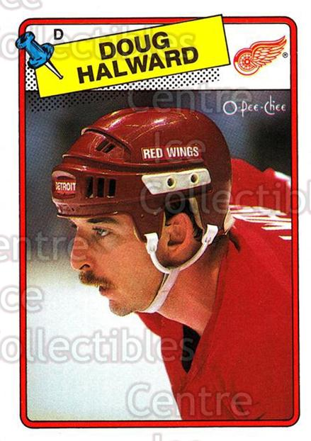 1988-89 O-Pee-Chee #113 Doug Halward<br/>10 In Stock - $1.00 each - <a href=https://centericecollectibles.foxycart.com/cart?name=1988-89%20O-Pee-Chee%20%23113%20Doug%20Halward...&quantity_max=10&price=$1.00&code=22145 class=foxycart> Buy it now! </a>