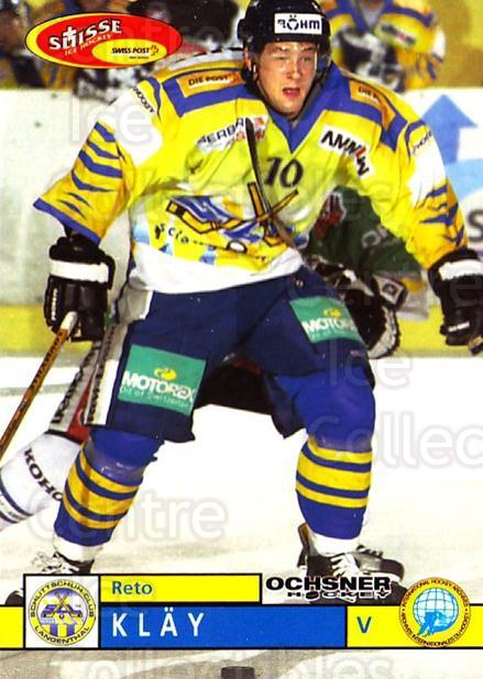 2002-03 Swiss Ice Hockey Cards #455 Reto Klay<br/>2 In Stock - $2.00 each - <a href=https://centericecollectibles.foxycart.com/cart?name=2002-03%20Swiss%20Ice%20Hockey%20Cards%20%23455%20Reto%20Klay...&quantity_max=2&price=$2.00&code=221500 class=foxycart> Buy it now! </a>