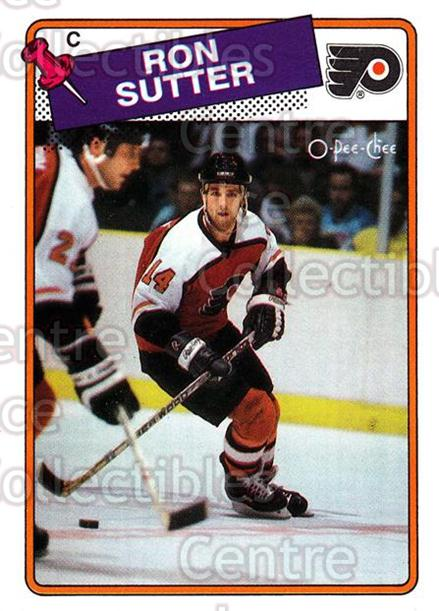 1988-89 O-Pee-Chee #126 Ron Sutter<br/>10 In Stock - $1.00 each - <a href=https://centericecollectibles.foxycart.com/cart?name=1988-89%20O-Pee-Chee%20%23126%20Ron%20Sutter...&quantity_max=10&price=$1.00&code=22154 class=foxycart> Buy it now! </a>