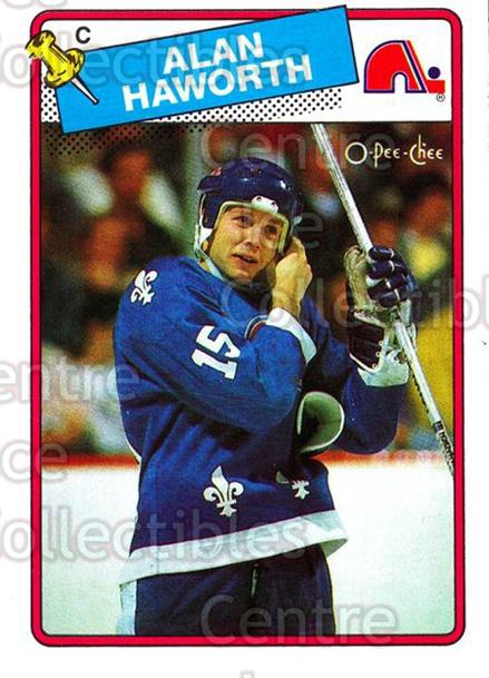 1988-89 O-Pee-Chee #131 Alan Haworth<br/>10 In Stock - $1.00 each - <a href=https://centericecollectibles.foxycart.com/cart?name=1988-89%20O-Pee-Chee%20%23131%20Alan%20Haworth...&quantity_max=10&price=$1.00&code=22160 class=foxycart> Buy it now! </a>
