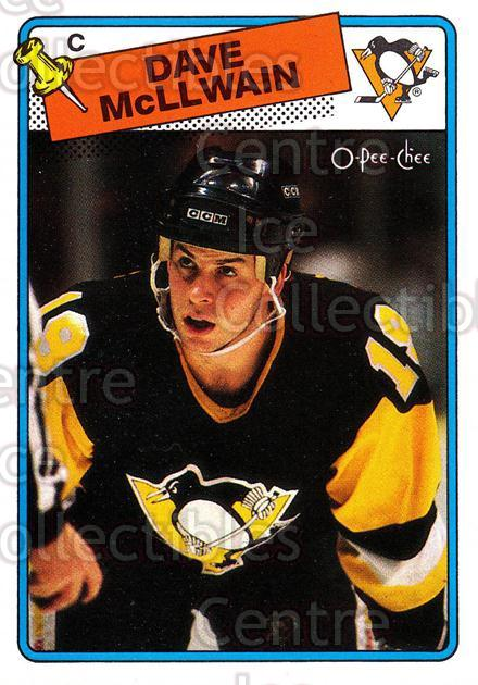 1988-89 O-Pee-Chee #132 Dave McLlwain<br/>11 In Stock - $1.00 each - <a href=https://centericecollectibles.foxycart.com/cart?name=1988-89%20O-Pee-Chee%20%23132%20Dave%20McLlwain...&quantity_max=11&price=$1.00&code=22161 class=foxycart> Buy it now! </a>