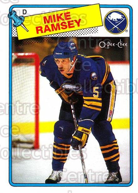 1988-89 O-Pee-Chee #133 Mike Ramsey<br/>12 In Stock - $1.00 each - <a href=https://centericecollectibles.foxycart.com/cart?name=1988-89%20O-Pee-Chee%20%23133%20Mike%20Ramsey...&quantity_max=12&price=$1.00&code=22162 class=foxycart> Buy it now! </a>