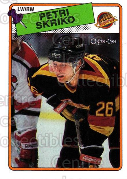 1988-89 O-Pee-Chee #137 Petri Skriko<br/>12 In Stock - $1.00 each - <a href=https://centericecollectibles.foxycart.com/cart?name=1988-89%20O-Pee-Chee%20%23137%20Petri%20Skriko...&quantity_max=12&price=$1.00&code=22166 class=foxycart> Buy it now! </a>