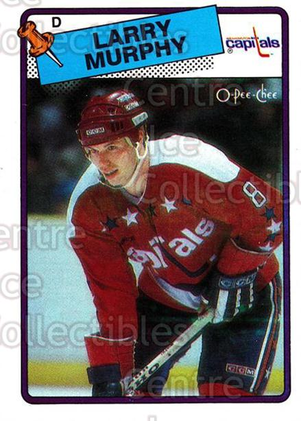 1988-89 O-Pee-Chee #141 Larry Murphy<br/>11 In Stock - $1.00 each - <a href=https://centericecollectibles.foxycart.com/cart?name=1988-89%20O-Pee-Chee%20%23141%20Larry%20Murphy...&quantity_max=11&price=$1.00&code=22171 class=foxycart> Buy it now! </a>