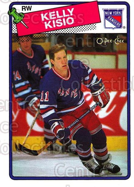 1988-89 O-Pee-Chee #143 Kelly Kisio<br/>12 In Stock - $1.00 each - <a href=https://centericecollectibles.foxycart.com/cart?name=1988-89%20O-Pee-Chee%20%23143%20Kelly%20Kisio...&quantity_max=12&price=$1.00&code=22173 class=foxycart> Buy it now! </a>