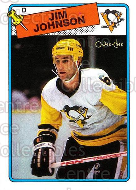 1988-89 O-Pee-Chee #148 Jim Johnson<br/>10 In Stock - $1.00 each - <a href=https://centericecollectibles.foxycart.com/cart?name=1988-89%20O-Pee-Chee%20%23148%20Jim%20Johnson...&quantity_max=10&price=$1.00&code=22178 class=foxycart> Buy it now! </a>