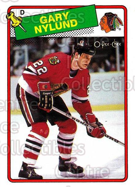 1988-89 O-Pee-Chee #15 Gary Nylund<br/>12 In Stock - $1.00 each - <a href=https://centericecollectibles.foxycart.com/cart?name=1988-89%20O-Pee-Chee%20%2315%20Gary%20Nylund...&quantity_max=12&price=$1.00&code=22180 class=foxycart> Buy it now! </a>