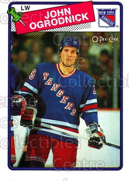 1988-89 O-Pee-Chee #153 John Ogrodnick<br/>9 In Stock - $1.00 each - <a href=https://centericecollectibles.foxycart.com/cart?name=1988-89%20O-Pee-Chee%20%23153%20John%20Ogrodnick...&quantity_max=9&price=$1.00&code=22184 class=foxycart> Buy it now! </a>