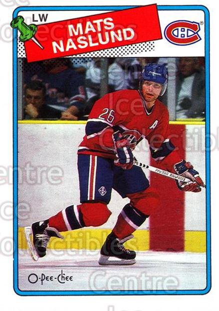 1988-89 O-Pee-Chee #156 Mats Naslund<br/>4 In Stock - $1.00 each - <a href=https://centericecollectibles.foxycart.com/cart?name=1988-89%20O-Pee-Chee%20%23156%20Mats%20Naslund...&quantity_max=4&price=$1.00&code=22187 class=foxycart> Buy it now! </a>
