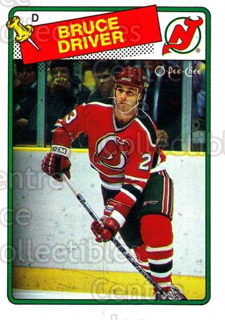 1988-89 O-Pee-Chee #157 Bruce Driver<br/>9 In Stock - $1.00 each - <a href=https://centericecollectibles.foxycart.com/cart?name=1988-89%20O-Pee-Chee%20%23157%20Bruce%20Driver...&quantity_max=9&price=$1.00&code=22188 class=foxycart> Buy it now! </a>