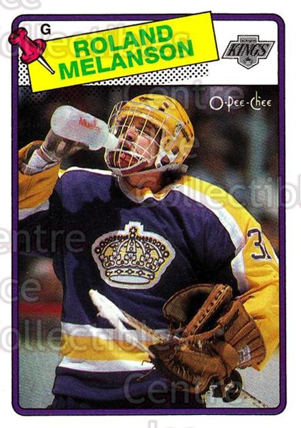 1988-89 O-Pee-Chee #160 Rollie Melanson<br/>10 In Stock - $1.00 each - <a href=https://centericecollectibles.foxycart.com/cart?name=1988-89%20O-Pee-Chee%20%23160%20Rollie%20Melanson...&quantity_max=10&price=$1.00&code=22191 class=foxycart> Buy it now! </a>