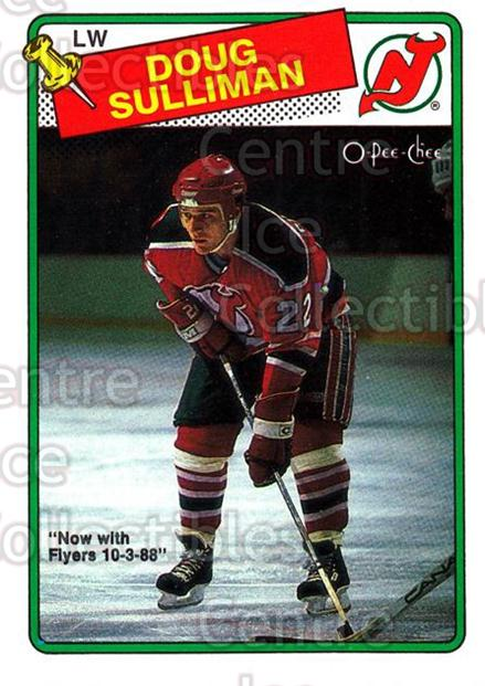 1988-89 O-Pee-Chee #172 Doug Sulliman<br/>11 In Stock - $1.00 each - <a href=https://centericecollectibles.foxycart.com/cart?name=1988-89%20O-Pee-Chee%20%23172%20Doug%20Sulliman...&quantity_max=11&price=$1.00&code=22202 class=foxycart> Buy it now! </a>