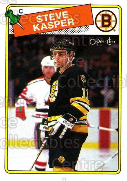 1988-89 O-Pee-Chee #176 Steve Kasper<br/>10 In Stock - $1.00 each - <a href=https://centericecollectibles.foxycart.com/cart?name=1988-89%20O-Pee-Chee%20%23176%20Steve%20Kasper...&quantity_max=10&price=$1.00&code=22206 class=foxycart> Buy it now! </a>