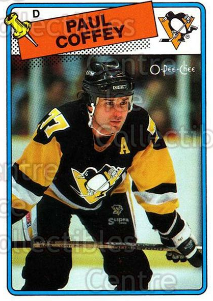 1988-89 O-Pee-Chee #179 Paul Coffey<br/>11 In Stock - $2.00 each - <a href=https://centericecollectibles.foxycart.com/cart?name=1988-89%20O-Pee-Chee%20%23179%20Paul%20Coffey...&quantity_max=11&price=$2.00&code=22209 class=foxycart> Buy it now! </a>