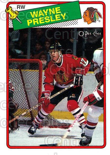 1988-89 O-Pee-Chee #185 Wayne Presley<br/>12 In Stock - $1.00 each - <a href=https://centericecollectibles.foxycart.com/cart?name=1988-89%20O-Pee-Chee%20%23185%20Wayne%20Presley...&quantity_max=12&price=$1.00&code=22214 class=foxycart> Buy it now! </a>