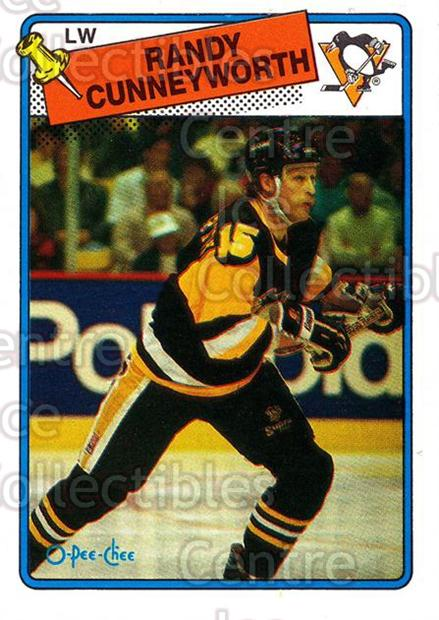 1988-89 O-Pee-Chee #19 Randy Cunneyworth<br/>8 In Stock - $1.00 each - <a href=https://centericecollectibles.foxycart.com/cart?name=1988-89%20O-Pee-Chee%20%2319%20Randy%20Cunneywor...&quantity_max=8&price=$1.00&code=22219 class=foxycart> Buy it now! </a>
