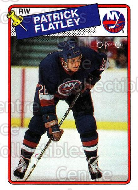 1988-89 O-Pee-Chee #191 Pat Flatley<br/>12 In Stock - $1.00 each - <a href=https://centericecollectibles.foxycart.com/cart?name=1988-89%20O-Pee-Chee%20%23191%20Pat%20Flatley...&quantity_max=12&price=$1.00&code=22221 class=foxycart> Buy it now! </a>