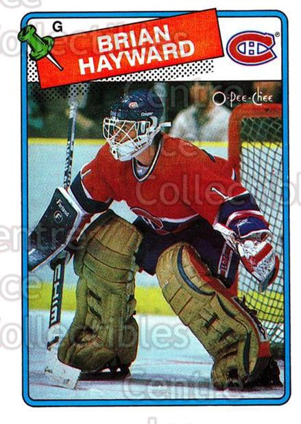 1988-89 O-Pee-Chee #195 Brian Hayward<br/>5 In Stock - $1.00 each - <a href=https://centericecollectibles.foxycart.com/cart?name=1988-89%20O-Pee-Chee%20%23195%20Brian%20Hayward...&quantity_max=5&price=$1.00&code=22224 class=foxycart> Buy it now! </a>