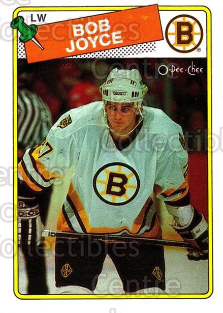 1988-89 O-Pee-Chee #2 Bob Joyce<br/>7 In Stock - $1.00 each - <a href=https://centericecollectibles.foxycart.com/cart?name=1988-89%20O-Pee-Chee%20%232%20Bob%20Joyce...&quantity_max=7&price=$1.00&code=22228 class=foxycart> Buy it now! </a>