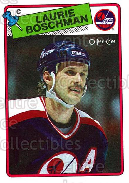 1988-89 O-Pee-Chee #200 Laurie Boschman<br/>10 In Stock - $1.00 each - <a href=https://centericecollectibles.foxycart.com/cart?name=1988-89%20O-Pee-Chee%20%23200%20Laurie%20Boschman...&quantity_max=10&price=$1.00&code=22230 class=foxycart> Buy it now! </a>