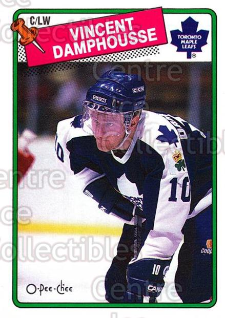 1988-89 O-Pee-Chee #207 Vincent Damphousse<br/>5 In Stock - $1.00 each - <a href=https://centericecollectibles.foxycart.com/cart?name=1988-89%20O-Pee-Chee%20%23207%20Vincent%20Damphou...&quantity_max=5&price=$1.00&code=22235 class=foxycart> Buy it now! </a>