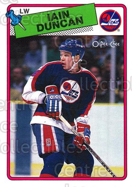 1988-89 O-Pee-Chee #209 Iain Duncan<br/>8 In Stock - $1.00 each - <a href=https://centericecollectibles.foxycart.com/cart?name=1988-89%20O-Pee-Chee%20%23209%20Iain%20Duncan...&quantity_max=8&price=$1.00&code=22237 class=foxycart> Buy it now! </a>