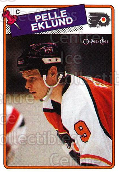 1988-89 O-Pee-Chee #211 Pelle Eklund<br/>10 In Stock - $1.00 each - <a href=https://centericecollectibles.foxycart.com/cart?name=1988-89%20O-Pee-Chee%20%23211%20Pelle%20Eklund...&quantity_max=10&price=$1.00&code=22239 class=foxycart> Buy it now! </a>