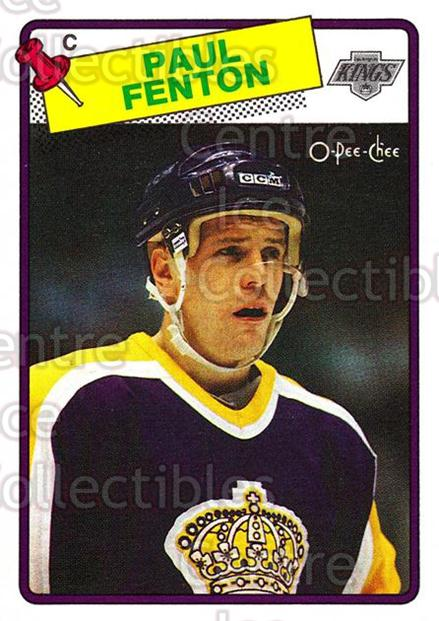1988-89 O-Pee-Chee #213 Paul Fenton<br/>11 In Stock - $1.00 each - <a href=https://centericecollectibles.foxycart.com/cart?name=1988-89%20O-Pee-Chee%20%23213%20Paul%20Fenton...&quantity_max=11&price=$1.00&code=22241 class=foxycart> Buy it now! </a>
